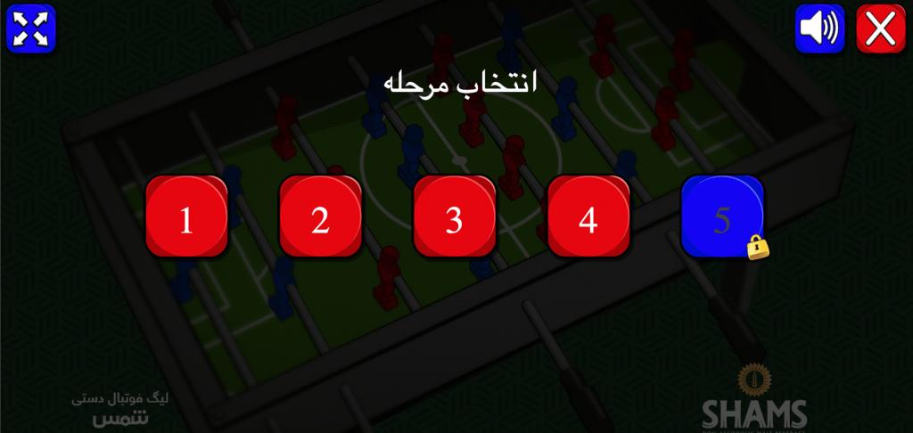 لیگ فوتبال دستی -سطح بازی